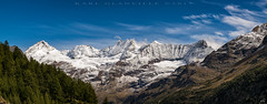 Panoramic Alps (5 image stitch) (glank27) Tags: bionaz panorama italy swiss alps mountains karl glanville canon eos 5d mk iv ef f456l 70300mm landscape skies view