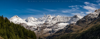 Panoramic Alps (5 image stitch)