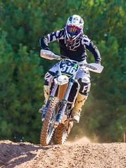 Husky At The Jump Crest (John Kocijanski) Tags: motocross motorcycle dirtbike vehicle people rider race sport canon70300mmllens canon7d