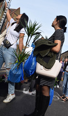 DSC_5451a London Columbia Road Sunday Flower Market Oriental Lady in Blue Jeans (photographer695) Tags: london columbia road sunday flower market oriental lady blue jeans