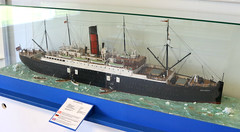 A model of the SS Carpathia at Springeren Maritimt oplevelsescenter, 16. september 2017. Foto: Per Ryolf (perryolf) Tags: fotoperryolf aalborg springerenmaritimtoplevelsescenter ubåd mtb torpedobåd ship ships schiff schiffe skibe skib marinemuseum