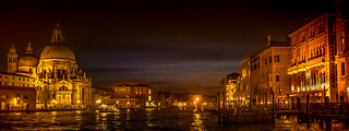 Canal Grande at nigth