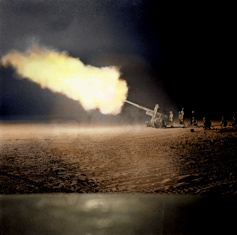 Artillery during the Battle of El Alamein [2]