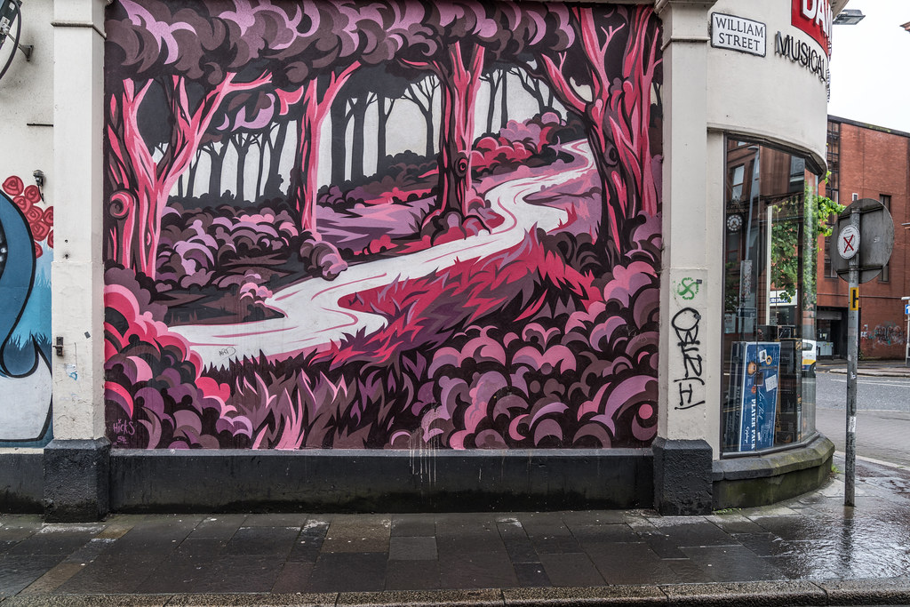 EXAMPLES OF URBAN CULTURE IN BELFAST [STREET ART AND GRAFFITI]-132898