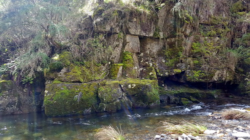 Panorama of the river on the Mt Beauty Gorge walk (4/5)