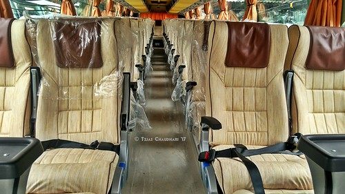 Interior Of National Travels Sanam Volvo B11r Bus A Photo On