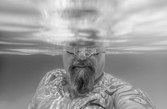 Tenerife 2017. Swimming pool selfie. (CWhatPhotos) Tags: self selfee selfie portrait swim pool black white mono tattoo tattoos tattoed tribal ink inked chest man male water tg4 tenerife puerto del la cruz puertodellacruz 65 olympus four thirds 43 digital camera photographs photograph pics pictures pic picture image images foto fotos photography artistic that have which with contain artistc art june 2017 holidays holiday time spain espana puero puetadellacruz cwhatphotos
