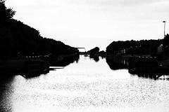 Black and white....... (rienschrier) Tags: water bridge brug canal kanaal blackandwhite zwaertwit