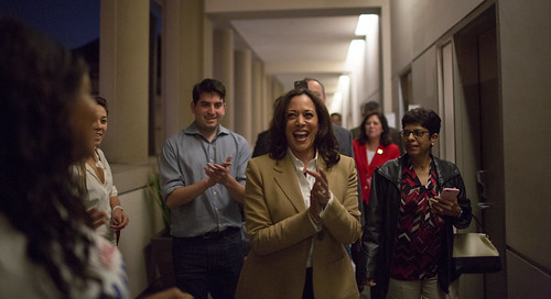 Attorney General Harris during the Fearless for the People tour