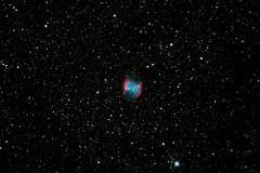M27 (Alex S.E.) Tags: stars astronomy astrophoto m27 messier27 dumbbellnebula applecorenebula nebula ngc6853 astrometrydotnet:id=nova2196479 astrometrydotnet:status=solved