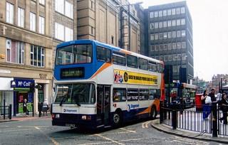 N724 LTN - Volvo Olympian YN2RV18Z4 Alexander RL H47/28F (1995) @ Pilgrim Street, Newcastle