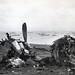 Wreckage of American Equipment, Beach of Iwo Jima, February 1945
