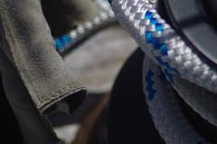 Sailing: Glove, Sheet, Winch (erluko) Tags: sailing stayinghealthy macromondays macroextensiontube macro tartan30