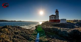Bandon Lighthouse Lens Flare