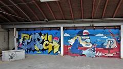 Quatch & Resto / Meibloem - 31 aug 2017 (Ferdinand 'Ferre' Feys) Tags: gent ghent gand belgium belgique belgië streetart artdelarue graffitiart graffiti graff urbanart urbanarte arteurbano ferdinandfeys resto
