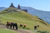 Tsminda Sameba, Gergeti, Georgia (maykal) Tags: kazbegi georgia mountain caucasus church جيورجيا كازبيقي جبل كنيسة mountkazbek gurcistan kavkaz sakartvelo საქართველო ყაზბეგი გერგეთი სტეფანწმინდა stepantsminda