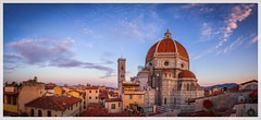 rooftop pano (Juhwie_Fotography) Tags: roof rooftop firenze florenz florence italy itlaien tiscany toskana duomo dom church pano panoramic sky clouds pentax pentaxart k1 1530 ricohimaging city cityscape travel dawn sunrise