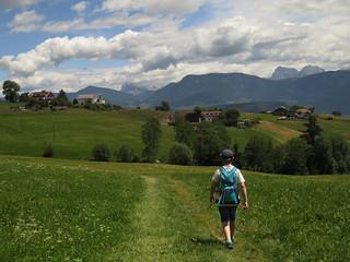 Walking in South Tyrol