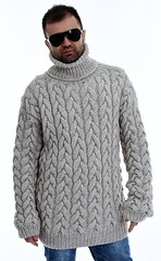 Mens heavy wool turtleneck (Mytwist) Tags: mens hand knit wool cable sweater tneck handgestrickte pullover sseu turtlemeck tn timeless knitwear fashion female fetish woolfetish design vintage vouge bulky bulgaria cabled cozy chunkysweater chunkey fisherman femdom