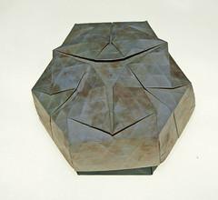 Teardrop ring tessellation (mganans) Tags: origami tessellation box