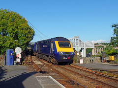 43088 Royal Albert Bridge (4) (Marky7890) Tags: gwr 43088 class43 hst 1c84 royalalbertbridge railway saltash cornwall cornishmainline train