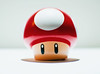 power up (kevin towler) Tags: toy figure red mushroom video game mario karts single