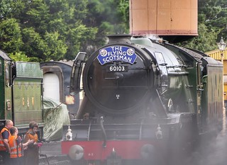 The Flying Scotsman comes to Somerset