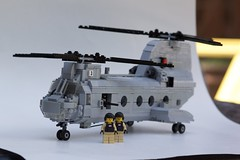 Boeing Vertol CH-46E (ModernBrix) Tags: ch46 lego build moc helicopter marines ch46e boeing vertol aircraft tandem rotor transport vehicle united states modern bricks interior legos troops folding flickr modernbrix brix hydraulics