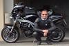 Me and my Speed Triple road-ready (Rob de Hero) Tags: me myself ich speedtriple triumph t509 speed triple motorbike motorcycle motorrad selfie acecafe