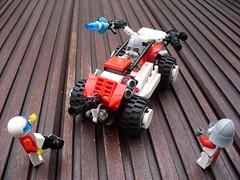 Żaba - Attack Buggy (alternate weaponry) (Śląski Hutas) Tags: lego moc bricks buggy poland polska futuristic scifi modification