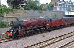 "45699 ""Galatea"" (mike_j's photos) Tags: 45699 scarboroughspaexpress scarborough railway station steam galatea"