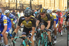 Prudential Ride London-Surrey Classic (Steve Dawson.) Tags: prudential ride london surrey classic world tour uci mens road race teams peloton speed lycra bikes british cycling northumberland avenue canoneos50d canon eos 50d ef28135mm f3556 is usm ef28135mmf3556isusm 30th july 2017