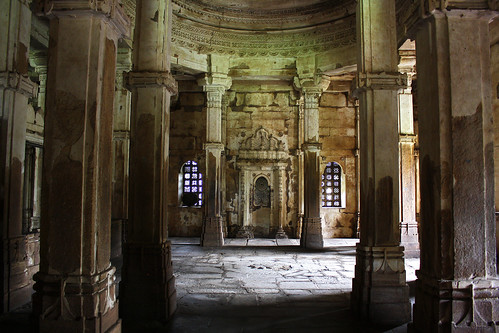 Ladies enclosure in Jami masjid, Champaner, Gujarat