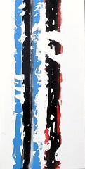 Vertical Rotation 2 (Peter Wachtmeister) Tags: artinformel modernart artbrut acrylicpaint popart surrealismus surrealism abstract abstrakt hanspeterwachtmeister illustrationen