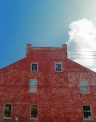 There should be a word for the smell of hot brick buildings. (moonbird) Tags: missouri stegen stegenevievemo roadtrip ruralamerica smalltownamerica midwest friendliesttown