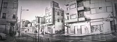 2017-09-13 17.27.08 (anyera2015) Tags: ceuta panorámica panorama calle noblex 135s noblex135s ilford xp2 ilfordxp2 bw hdr 135