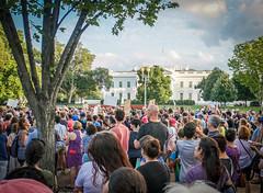 2017.08.13 Charlottesville Candlelight Vigil, Washington, DC USA 8049