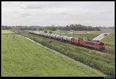 DBC 1615 + 6412 - 61816 (Spoorpunt.nl) Tags: 2 augustus 2017 dbc db cargo 1615 6412 afvoer unit trein 61816 moordrecht opzending