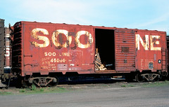 SOO 45236 (Chuck Zeiler) Tags: soo 45236 railroad box car boxcar freight minneapolis chuckzeiler chz