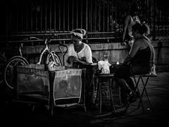 Night Shift - New Orleans (nicklaborde) Tags: 500px bw black white stranger night market lumix louisiana new orleans gx7 lumixgx7