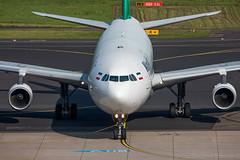 Airbus A340-300 Mahan Air EP-MMD MSN 164 (Guillaume Besnard Aviation Photography) Tags: dus eddl düsseldorf flughafendüsseldorf plane planespotting aircraft airplane canoneos canonef500f4lisusm canoneos1dsmarkiii airbusa340300 mahanair epmmd msn164 cn164 airbusa340