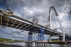 New Wear Crossing, Sunderland (DM Allan) Tags: newwearcrossing bridge sunderland wear river wearside construction