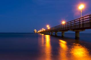 blue hour Baltic Sea