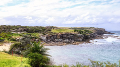 The golf course at the edge of the world (geemuses) Tags: maroubra sea surf ocean water sky cloud blue green landscape view scenery scenic nature beach bluewater natural australia newsouthwales sydney