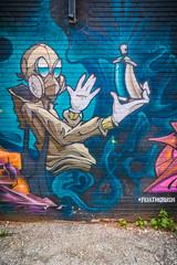 Amazing Street Art by #feeltherush (A Great Capture) Tags: feeltherush street downtown toronto urban art alley graffiti agreatcapture agc wwwagreatcapturecom adjm ash2276 ashleylduffus ald mobilejay jamesmitchell on ontario canada canadian photographer northamerica torontoexplore summer summertime été 2017