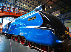 The Mallard (jamiegaquinn) Tags: themallard mallard steam train york nrm nationalrailwaymuseum yorkshire