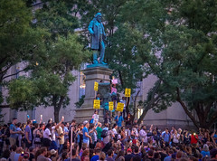 2017.08.13 Charlottesville Candlelight Vigil, Washington, DC USA 8134