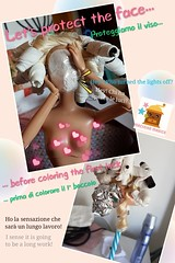 STARTING COLOURING THE HAIR! 💖💙💚💛💜 INIZIO A COLORARE I CAPELLI! (macinino_magico) Tags: macininomagico maci macy barbie ooakbarbie barbieooak barbiehair capellidibarbie haircolour colorepercapelli workinprogress wip behindthescenes dietrolequinte experiment doll esperimento bambola ooakdoll bambolaooak custombarbie barbiecustomizzata customdoll bambolacustomizzata customhead ooak curlers bigodini locks boccoli ricci blondie blond biondo bionda rainbowhair unicornhair rainbow unicorn arcobaleno unicorno artsandcrafts arte art handmade fattoamano toys giocattoli giocattolo surprize sorpresa