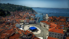 Piran (emptyseas) Tags: emptyseas nikon d800 slovenia piran adriatic sea town narrow peninsula venetian gothic architecture