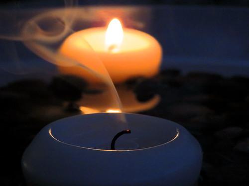 Candle smoke!!!